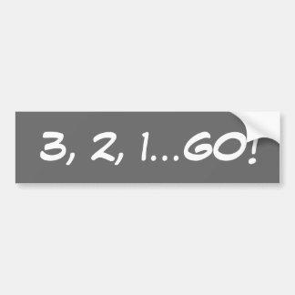AUTOCOLLANT DE VOITURE 3,2,1… DISPARAISSENT