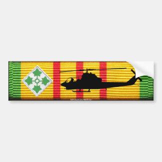 Autocollant De Voiture 4ème Division d'infanterie. Adhésif pour