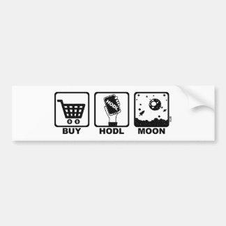 Autocollant De Voiture Achetez la lune de Hodl