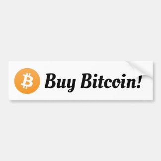 Autocollant De Voiture Achetez l'adhésif pour pare-chocs de Bitcoin