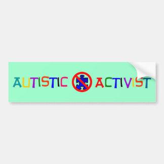 Autocollant De Voiture Activiste autiste