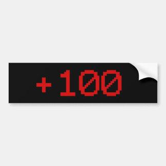 Autocollant De Voiture +Adhésif pour pare-chocs 100
