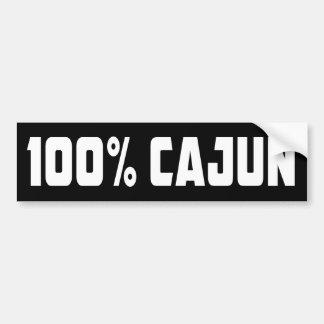 Autocollant De Voiture Adhésif pour pare-chocs 100% de Cajun