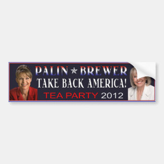 Autocollant De Voiture Adhésif pour pare-chocs 2012 de brasseur de Palin