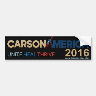 Autocollant De Voiture Adhésif pour pare-chocs 2016 de Ben Carson