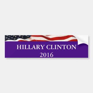 Autocollant De Voiture Adhésif pour pare-chocs 2016 de Hillary Clinton