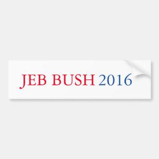 Autocollant De Voiture Adhésif pour pare-chocs 2016 de Jeb Bush