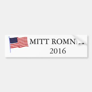 Autocollant De Voiture Adhésif pour pare-chocs 2016 de Mitt Romney
