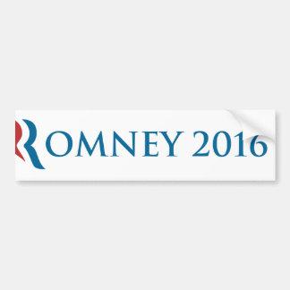 Autocollant De Voiture Adhésif pour pare-chocs 2016 de Romney