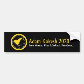 Autocollant De Voiture Adhésif pour pare-chocs 2020 d'Adam Kokesh