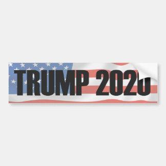Autocollant De Voiture Adhésif pour pare-chocs 2020 de Donald Trump