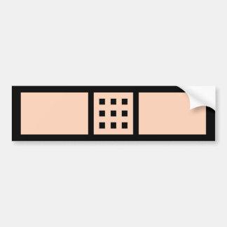 Autocollant De Voiture adhésif pour pare-chocs à 8 bits de bandage !