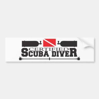 Autocollant De Voiture Adhésif pour pare-chocs certifié de plongeur