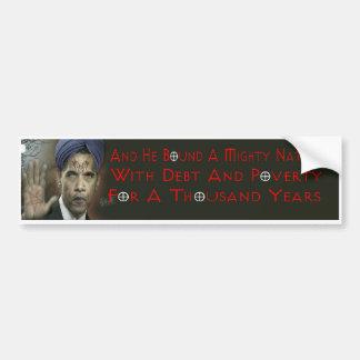Autocollant De Voiture Adhésif pour pare-chocs d'antichriste d'Obama