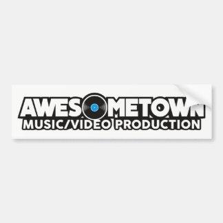 Autocollant De Voiture Adhésif pour pare-chocs d'Awesometown