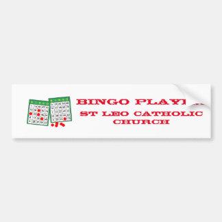 Autocollant De Voiture Adhésif pour pare-chocs de bingo-test de 2 cartes