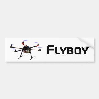 Autocollant De Voiture Adhésif pour pare-chocs de bourdon de hexacopter
