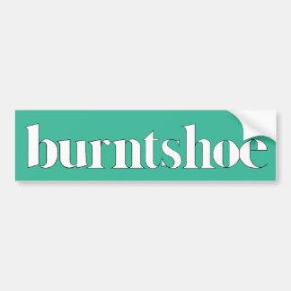 Autocollant De Voiture Adhésif pour pare-chocs de Burntshoe