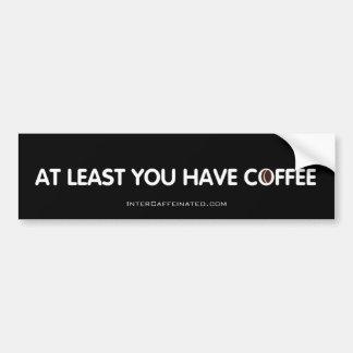 Autocollant De Voiture Adhésif pour pare-chocs de café