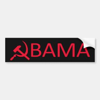 Autocollant De Voiture Adhésif pour pare-chocs de communiste d'Obama