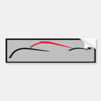 Autocollant De Voiture Adhésif pour pare-chocs de coureur de prototype de