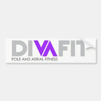 Autocollant De Voiture Adhésif pour pare-chocs de DivaFit (lumière)