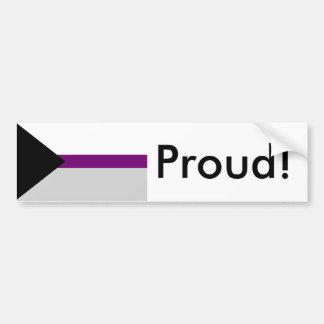 Autocollant De Voiture Adhésif pour pare-chocs de drapeau de fierté de