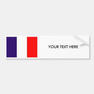 Autocollant De Voiture Adhésif pour pare-chocs de DRAPEAU de la FRANCE