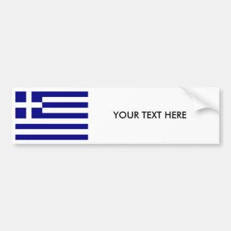 Autocollant De Voiture Adhésif pour pare-chocs de DRAPEAU de la GRÈCE