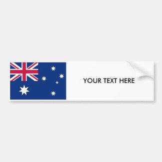 Autocollant De Voiture Adhésif pour pare-chocs de DRAPEAU de l'AUSTRALIE