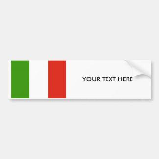 Autocollant De Voiture Adhésif pour pare-chocs de DRAPEAU de l'ITALIE