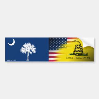 Autocollant De Voiture Adhésif pour pare-chocs de drapeau des Etats-Unis,