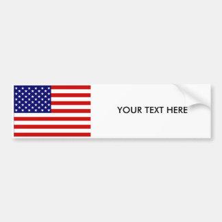 Autocollant De Voiture Adhésif pour pare-chocs de DRAPEAU des Etats-Unis