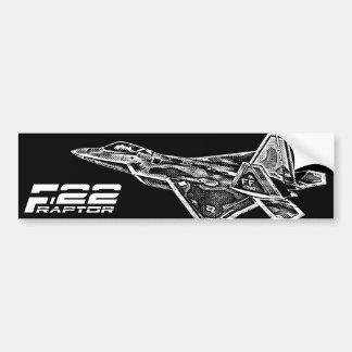 Autocollant De Voiture Adhésif pour pare-chocs de F-22 RAPTOR