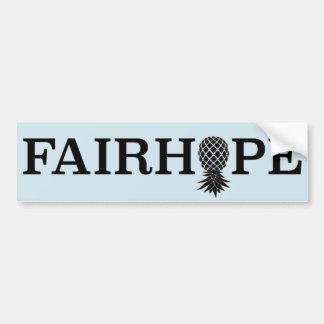 Autocollant De Voiture Adhésif pour pare-chocs de Fairhope - ananas à