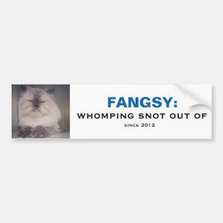 Autocollant De Voiture Adhésif pour pare-chocs de Fangsy