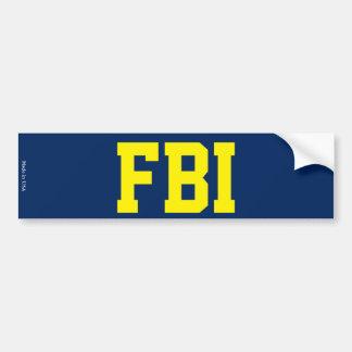 Autocollant De Voiture Adhésif pour pare-chocs de FBI