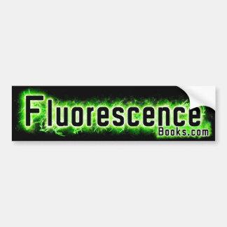 Autocollant De Voiture Adhésif pour pare-chocs de fluorescence (VERT)