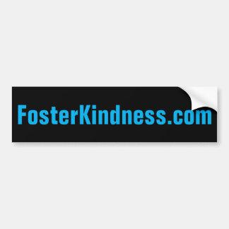 Autocollant De Voiture adhésif pour pare-chocs de FosterKindness.com