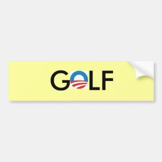 Autocollant De Voiture adhésif pour pare-chocs de golf d'obama