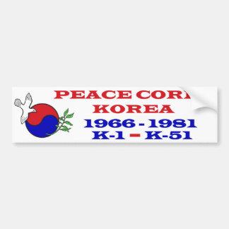 Autocollant De Voiture Adhésif pour pare-chocs de la Corée de corps de