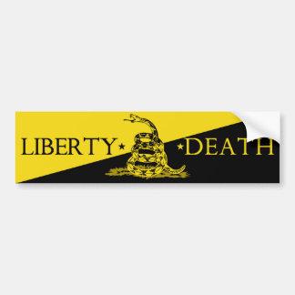 Autocollant De Voiture Adhésif pour pare-chocs de la mort de liberté