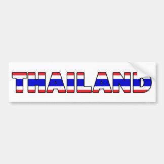 Autocollant De Voiture Adhésif pour pare-chocs de la Thaïlande