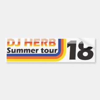 Autocollant De Voiture Adhésif pour pare-chocs de la visite 18 d'été