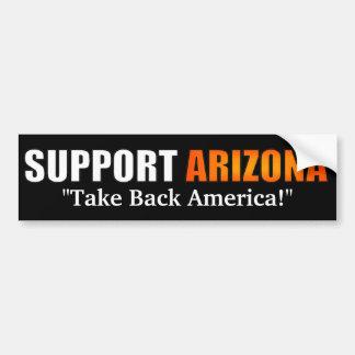 Autocollant De Voiture Adhésif pour pare-chocs de l'Arizona de soutien