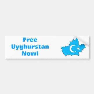 Autocollant De Voiture Adhésif pour pare-chocs de liberté d'Uyghur