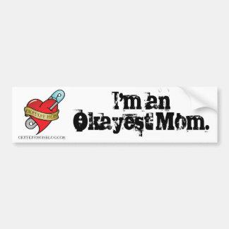 Autocollant De Voiture Adhésif pour pare-chocs de maman d'Okayest