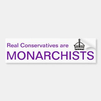 Autocollant De Voiture Adhésif pour pare-chocs de monarchiste