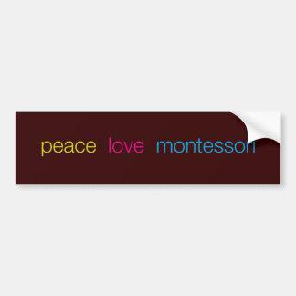 Autocollant De Voiture Adhésif pour pare-chocs de Montessori