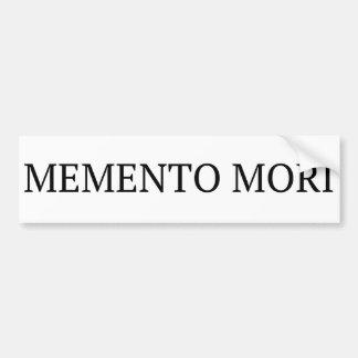 Autocollant De Voiture Adhésif pour pare-chocs de Mori de souvenir